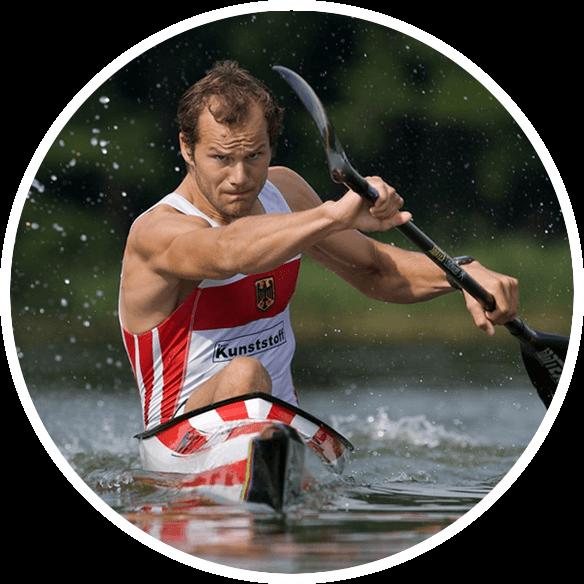 Max Hoff Stroke2max Kayak Ergometer Paddler