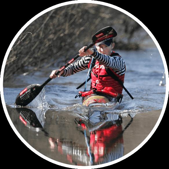 Russell Willis Stroke2max Kayak Ergometer Paddler
